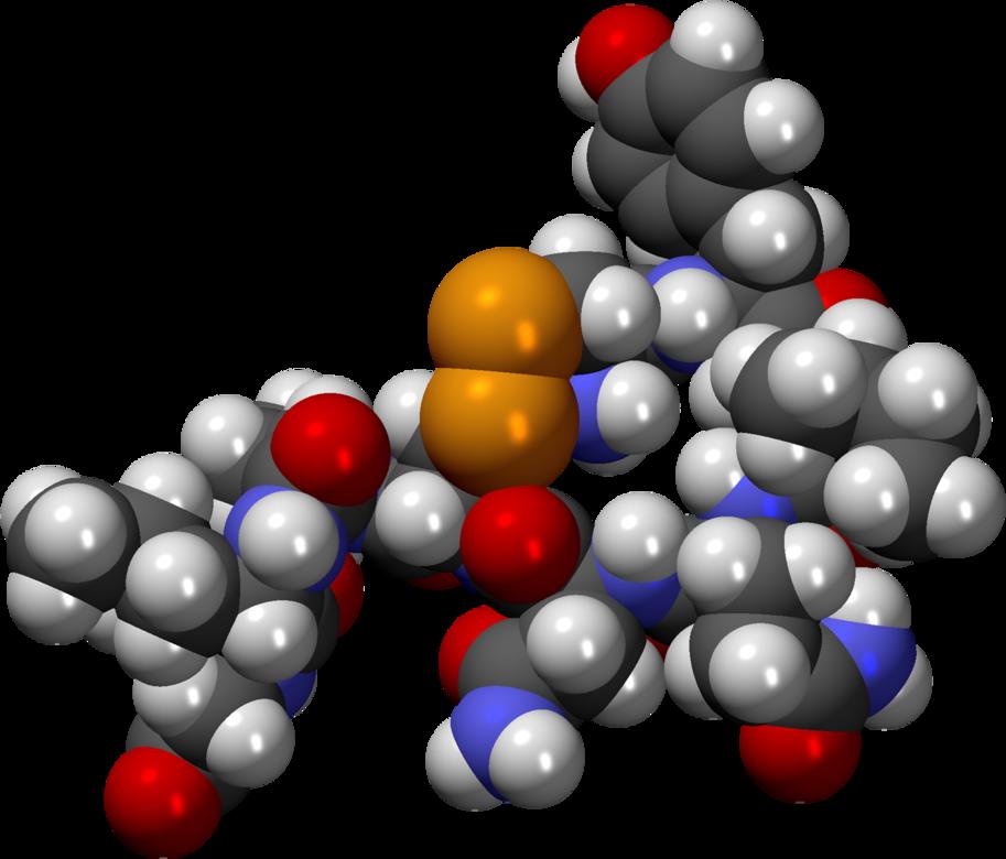 Oxitocine molecuul C43H66N12O12S2